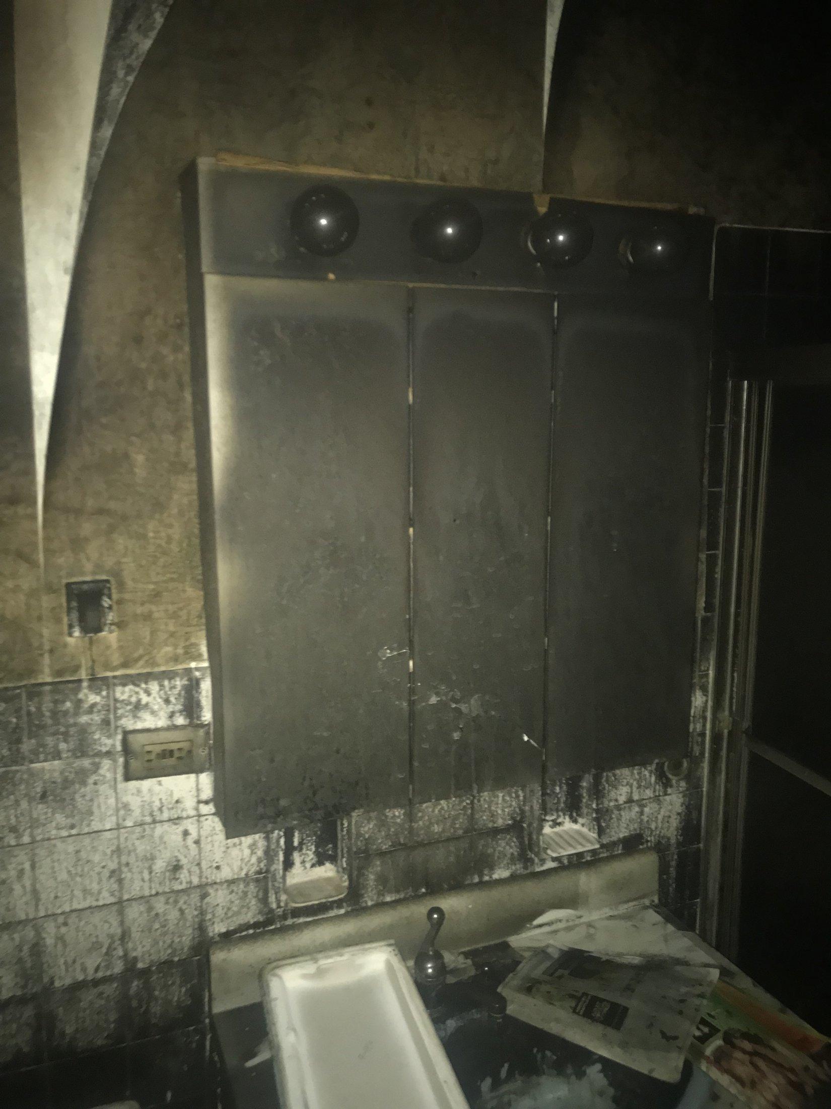 Before Bathroom Vanity