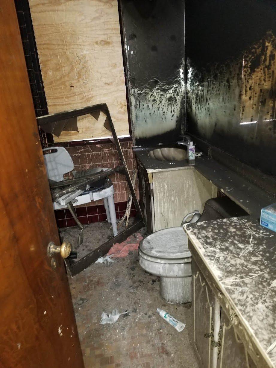 Before Upstairs Bathroom